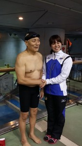 世界記録達成 岩本光司さん